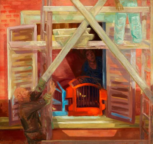 Duray Tibor: Ablak kalitkákkal (Kalitkás ablak)