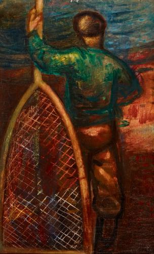 Duray Tibor: Zöld inges halászfiú