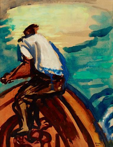 Duray Tibor: Csónakos