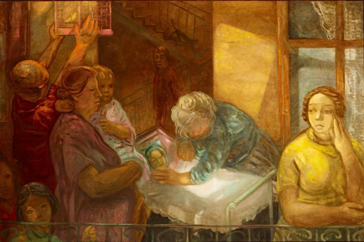 Duray Tibor: Család (Anyák; Vágyakozás; Vágyakozó)