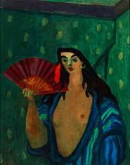 Duray Tibor: Spanyol táncosnő