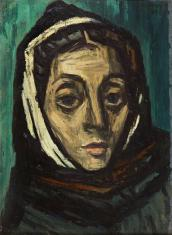 Duray Tibor: Ostrom után (Adrienn; Csuklyás fej; Női fej)