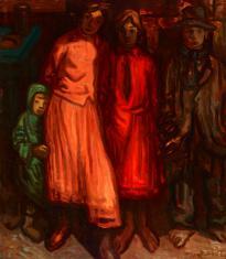 Duray Tibor: Gyerekek (Cigány gyerekek)