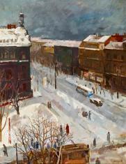 Duray Tibor: Utca télen